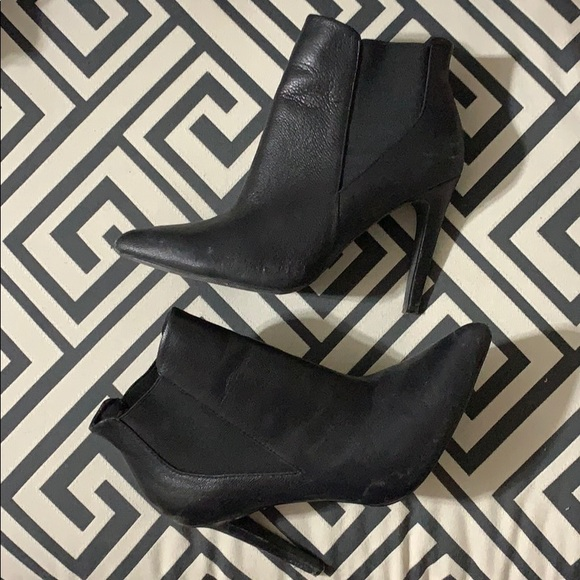 LE CHATEAU - 9M heeled booties - Black 9M Used